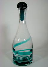 60er-Design  Zwiesel Glas Karaffe ** German Glass Decanter 60´s TOP & RAR