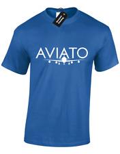 Camiseta para hombre aviato Silicona Valley Tv Serie Tv Show Geek Nerd Regalo Top S - 5XL