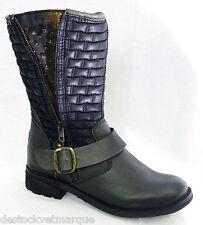 BUNKER shoes bottes femme Out B73 Puma noir femme