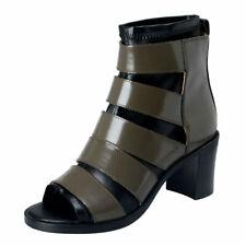 Maison Margiela MM6 Women's Leather High Heel Ankle Boots Shoes Sz 6 7 8