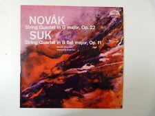 LP NOVAK SUK string quartet op 22 + 11 Supraphon