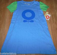 Katvig baby girl dress 80-86 cm 12-18 m BNWT designer organic blue summer