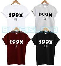 199x T-SHIRT BAMBINO 1990 Fashion Blogger Tumblr Hipster Swag Dope anni'90 Fresh TEE ne