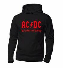 Felpa personalizzata ACDC - In Rock We Trust (unofficial)