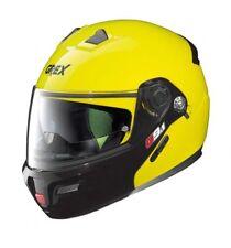 GREX G9.1 Casco De Moto Motocicleta evolucionar Par Amarillo Nolan (+ Regalo Gratis)