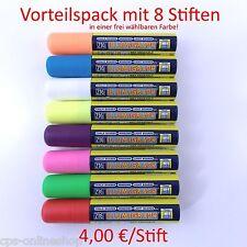 Illumigraph Kreidestift 15 mm Spitze Vorteilspack: 8 Stifte - Farbe wählen! ZIG