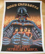 2005 Good Charlotte Star Wars Poster EMEK - Darth Vader