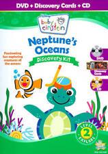 Disney Baby Einstein: Neptunes Oceans Discovery Kit (DVD, 2011, 2-Disc Set, DVD/