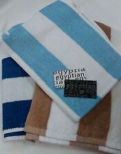SPA POOL LEISURE BEACH.STRIPE EGYPTIAN COTTON LARGE TOWEL 70X150CM 3 COLOURS