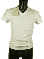 T-shirt uomo Fabio di Nicola Tg. XL Avorio Cotone Stretch Italy Original New