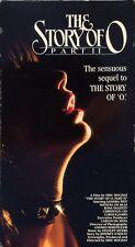 sandra wey  THE STORY OF O part ii  manuel de blas  VHS VIDEOTAPE