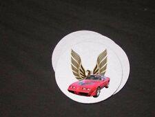 NEW 1980 Pontiac Firebird, Formula, and TA soft coaster sets!!