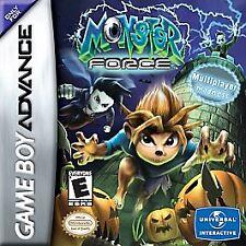+++ MONSTER FORCE Game Boy Advance SP DS Gameboy NEW SEALED +++