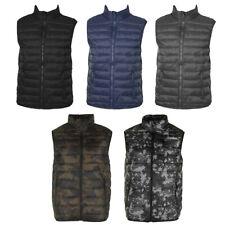 Maximos Men's Sleeveless  Zip Up Front Pocket Mock Neck Puffy Vest