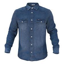Camicia Jeans Uomo WRANGLER Manica Lunga Art.W5973LWZ4