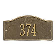 Rolling Hills Mini Personalized Address Plaque