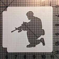 Soldier 104 Stencil