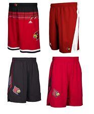 NEW Adidas Men's NCAA Louisville Cardinals On Court Premier Basketball Shorts