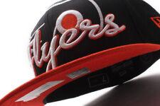 Philadelphia Flyers Script Punch - New Era 59Fifty Fitted NHL Hat Black/Orange