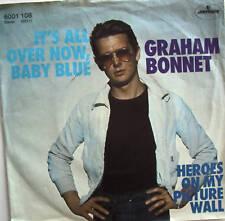 "7"" 1977 RARE! GRAHAM BONNET It´s All Over Now Baby Blue"