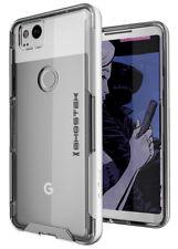 Google Pixel 2 Case | Ghostek CLOAK Ultra Slim Clear Hybrid Shockproof Bumper