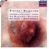 Gabriel Faure : Fauré: Requiem/Pelléas Et Mélisande/Pavane CD (1988)