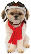 Rubies Aviator Airplane Pilot Pets Dogs Hat Scarf Halloween Costume 580222