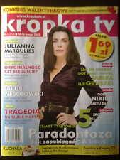 Polish Magazine Kropka TV 6/2012 front Julianna Margulies in. Debbie Ryan
