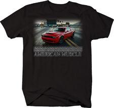 American Muscle Mopar Racing Quarter Mile Racetrack Tshirt