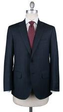 New $3600 Sartorio Napoli Blue Wool Striped Suit - (UA200S512940C7)