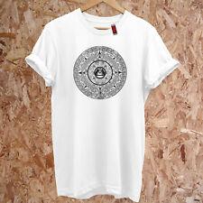 Illuminati Eye AZTEC Conspiracy All Seeing Eye Mayan Premium DTG T-Shirt S-5XL