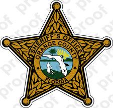 STICKER SHERIFF ORANGE COUNTY BRZ
