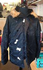 Genuine Alpha Industries Black N3B Hooded Extreme Cold Weather Parka