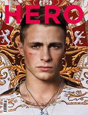 HERO Fashion Magazine # 6,COLTON HAYNES TEEN WOLF,COMME DES GARCON,Jordan Taylor