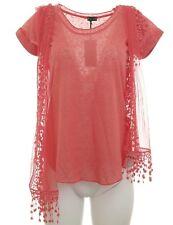 LAURA SCOTT Camiseta con Bufanda Conjunto de 2 piezas Top Blusa Túnica Camisa