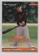 2005 Donruss The Rookies 2004 Blue Press Proof #33 Angel Chavez Baseball Card
