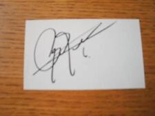 1960's-00's Autograph White Card: De Zeeuw, Arjan. Item In very good condition u