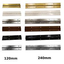 120mm , 240mm Continous Metal Piano Hinge, Butt Door Cabinet Hinge