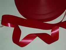"Red flocked ribbon red velvet Christmas wreath ribbon 5 yards  x 1 1/4""wide"