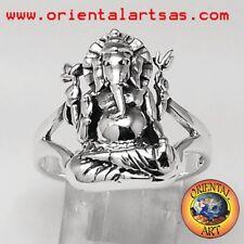 Ganesh anello in argento 925