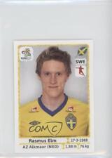 2012 Panini UEFA Euro Album Stickers #443 Rasmus Elm Soccer Card