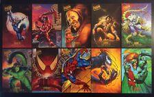 1995 Fleer Ultra Spider-Man Marvel Promo Prints 10 x 6 Card Singles You Choose