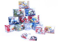 Police, Fire Brigade, Army & Construction Building Blocks - Plastic Brick Toy