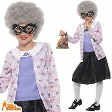 Child Deluxe Gangsta Granny Costume David Walliams Book Week Day Fancy Dress