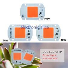 20W 30W 50W full spectrum 380-840nm LED COB 110V 220V Input Integrated Smart IC