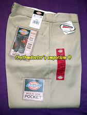 Dickies Mens 85283 KH Loose Fit Double Knee Multi Use Pocket Work Pant Khaki