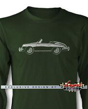 Porsche 356 B Speedster Roadster Long Sleeves T-Shirt - Multiple Colors & Sizes