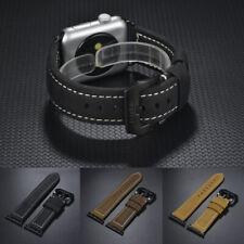 Apple Watch Series 3 / 2 / 1 Band , Bandkin Vintage Genuine Leather Watch Strap