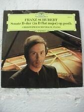 2530 477 SCHUBERT Sonata ESCHENBACH Piano DG STEREO 1974 UK