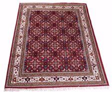 Indo Herati, handgeknüpft Orientteppich 100% Schurwolle, verschied. Größen rot